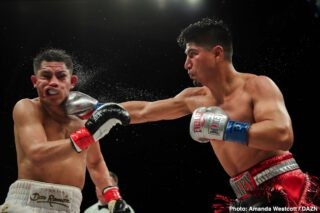 Mikey Garcia - Rewind to March of last year, and Mikey Garcia didn't look to have much of a future at 147 pounds. Having made the 'dare to be great' move of challenging welterweight champ Errol Spence 11 months back, Garcia was handed a one-sided beating, one that had fans and experts calling for Mikey to drop back down, either to 140 or even back to 135.