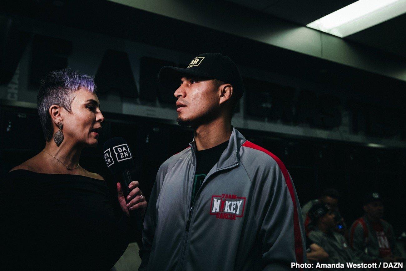 Eddie Hearn, Mikey Garcia - Boxing News