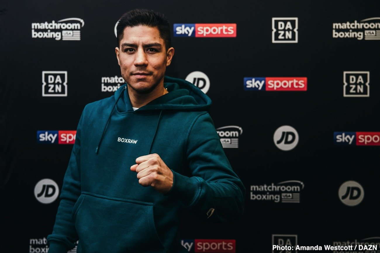 Jessie Vargas, Liam Smith - Jessie Vargas believes he will become a three-weight World champion and said on the latest episode of Matchroom Boxing's podcast 'The Lockdown Tapes' that he's ready to go all-out to make that a reality when boxing returns.