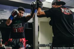 Charlie Navarro, Israil Madrimov, Jay Harris, Jessie Vargas, Joseph Parker, Julio Cesar Martinez, Kal Yafai, Mikey Garcia, Roman Gonzalez, Shawndell Winters -  In the main event of a thrilling Matchroom Boxing USA fight card live on DAZN and in front of 11,019 passionate fans at the Dallas Cowboys headquarters, Mikey Garcia (40-1, 30 KOs) outlasted Jessie Vargas (29-3-2, 11 KOs) in an action-packed welterweight showdown on Saturday night. Vargas effectively used his jab throughout the fight, but Garcia ultimately wore him down with brutal right hands and even sent Vargas to the canvas in the fifth round. The four-division world champion earned a unanimous decision victory to prove his doubters wrong as he continues his pursuit to dominate the welterweight ranks.