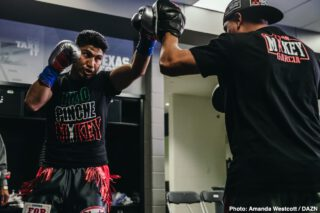 Mikey Garcia - Teddy Atlas is predicting Manny Pacquiao will jump out to a quick early lead against Mikey Garcia in their potential fight this summer, and then he'll struggle in the second half.