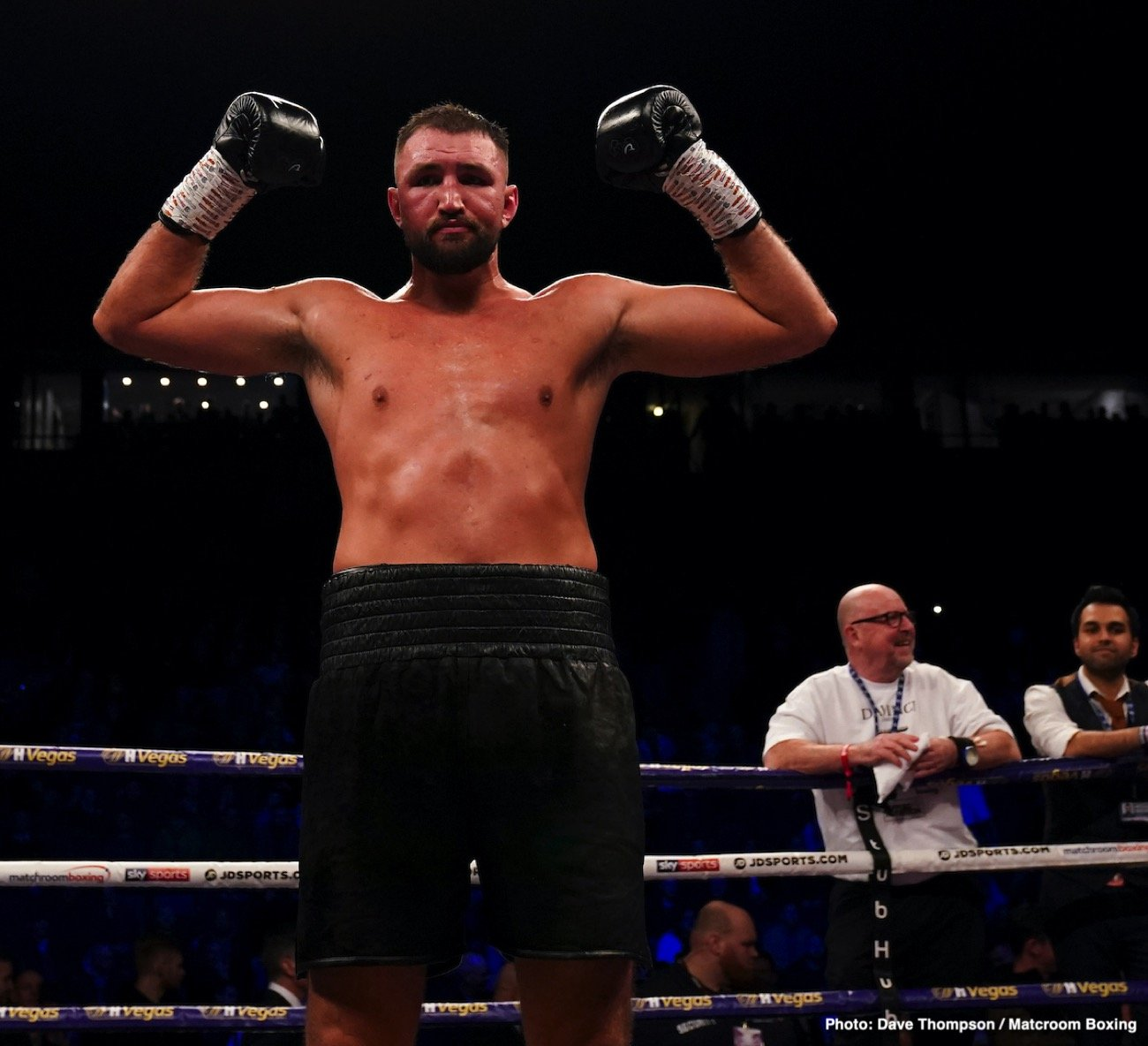 Hughie Fury - Hughie Fury says he would be open to a behind closed doors domestic Heavyweight clash with Matchroom stablemate Dave Allen whilst his World Title hopes have been put on hold due to the COVID-19 outbreak as he spoke with Chris Lloyd in the latest episode of Matchroom Boxing's podcast 'The Lockdown Tapes'.