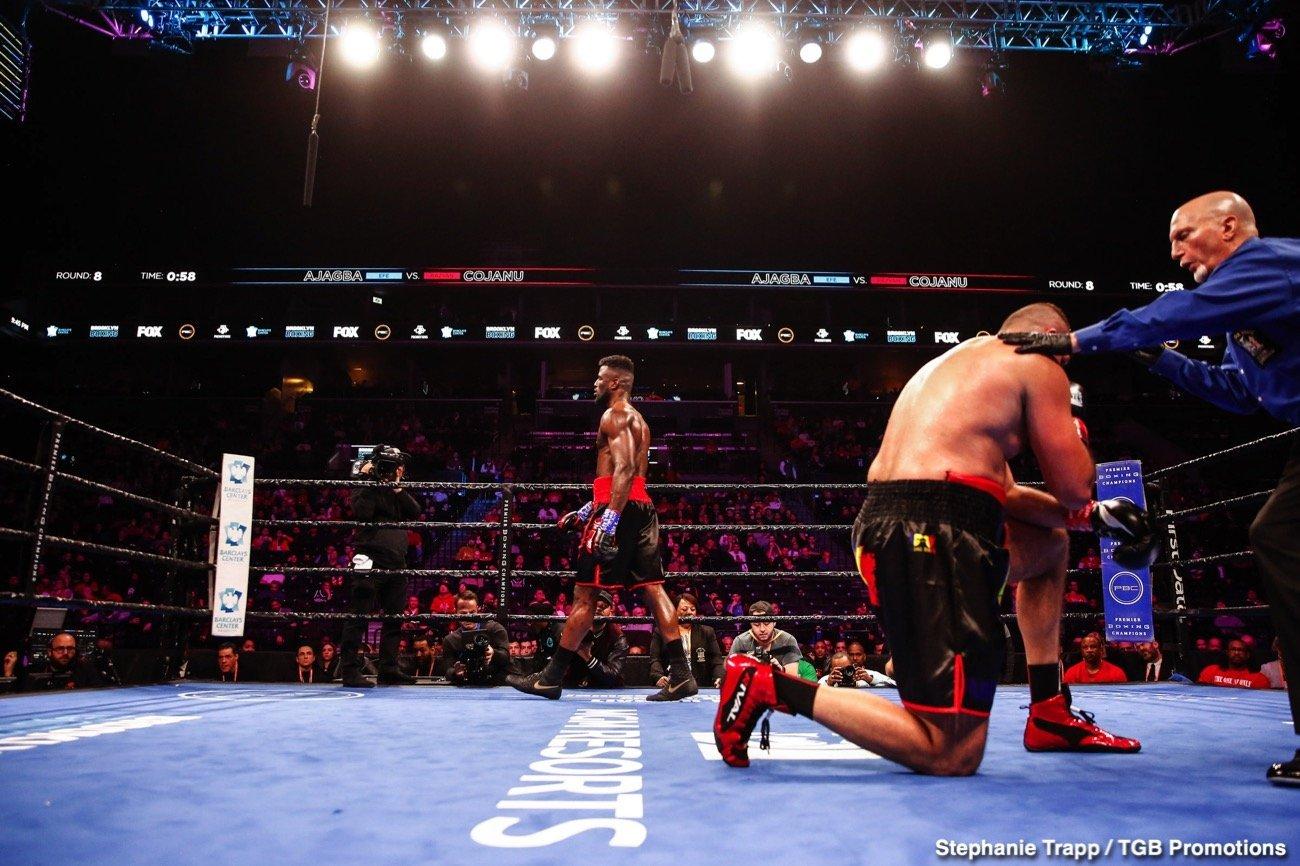 Efe Ajagba, Frank Sanchez, Tony Yoka - Boxing News