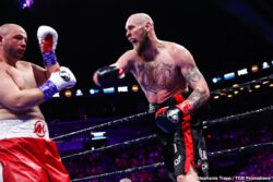 Adam Kownacki, Efe Ajagba, Frank Sanchez, Joey Dawejko, Razvan Cojanu, Robert Helenius - Robert Helenius (30-3, 19 KOs)scored an upset victory over previously unbeaten Adam Kownacki (20-1, 15 KOs) by stopping him in the fourth round of a WBA Heavyweight Title Eliminator headlining FOX PBC Fight Night and on FOX Deportes Saturday night from Barclays Center, the home of BROOKLYN BOXING™.