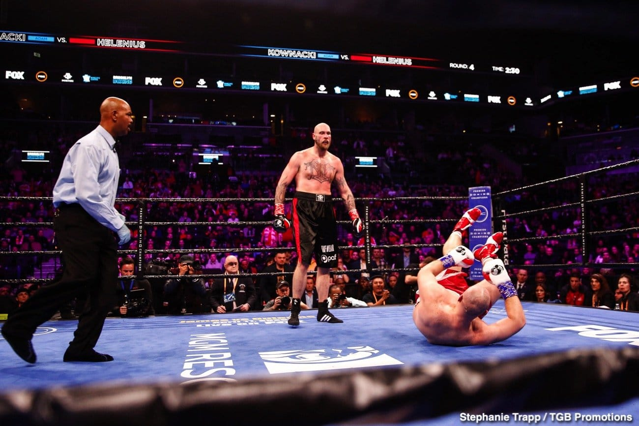 Alexander Usyk, Anthony Joshua, Robert Helenius - Boxing News