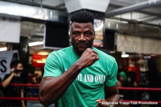 Efe Ajagba - Ajagba to make debut under the Top Rank banner in 2020