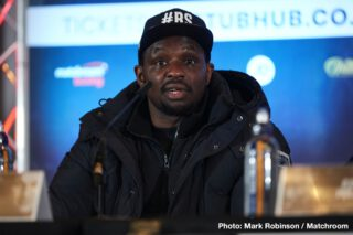 Deontay Wilder, Dillian Whyte, Tyson Fury - Fury is under contract to fight Wilder a third time, so there's not much he can do about it. Whyte needs to grow up and realize that sometimes fighters have to do things that they don't want it. I'm sure Fury wishes he didn't have to fight Wilder again, but the fact of the matter is, he does.