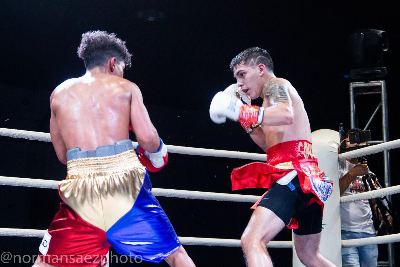 """Andres """"Crocodile"""" Campos sets sights on world ratings, now holds WBA Fedebol and WBO Latino flyweight titles"""