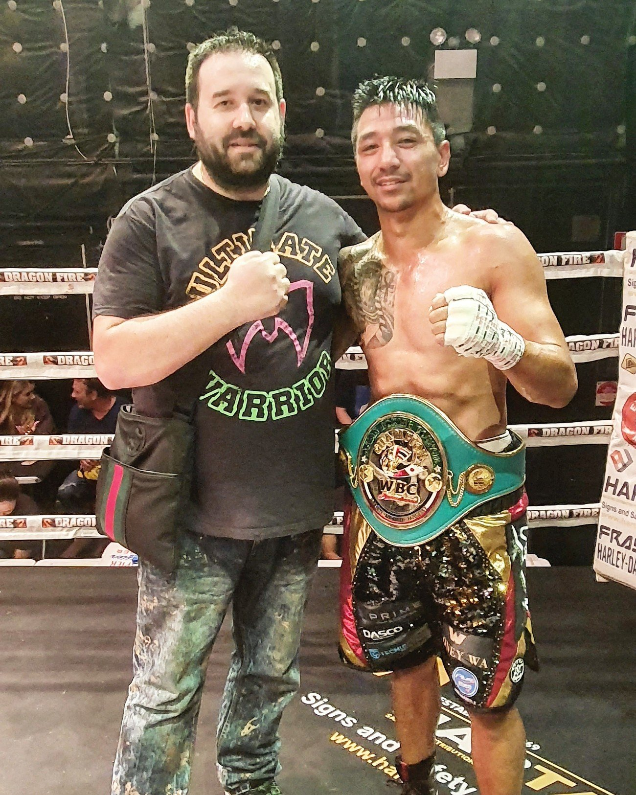 Steve Gago - Steve Gago has followed up from his WBC Australasian title victory in his hometown of Perth by resigning a long term deal with Tony Tolj's Dragon Fire Boxing.