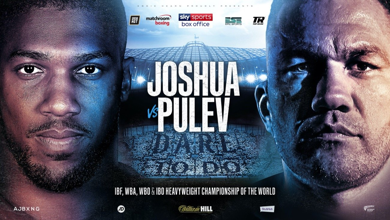 Aleksandr Usyk, Alexander Povetkin, Anthony Joshua, Derek Chisora, Dillian Whyte, Kubrat Pulev, Lee Selby - Anthony Joshua's defence of his IBF, WBA, WBO and IBO Heavyweight World Titles against Mandatory Challenger Kubrat Pulev scheduled to take place at the Tottenham Hotspur Stadium on Saturday June 20 has been postponed.