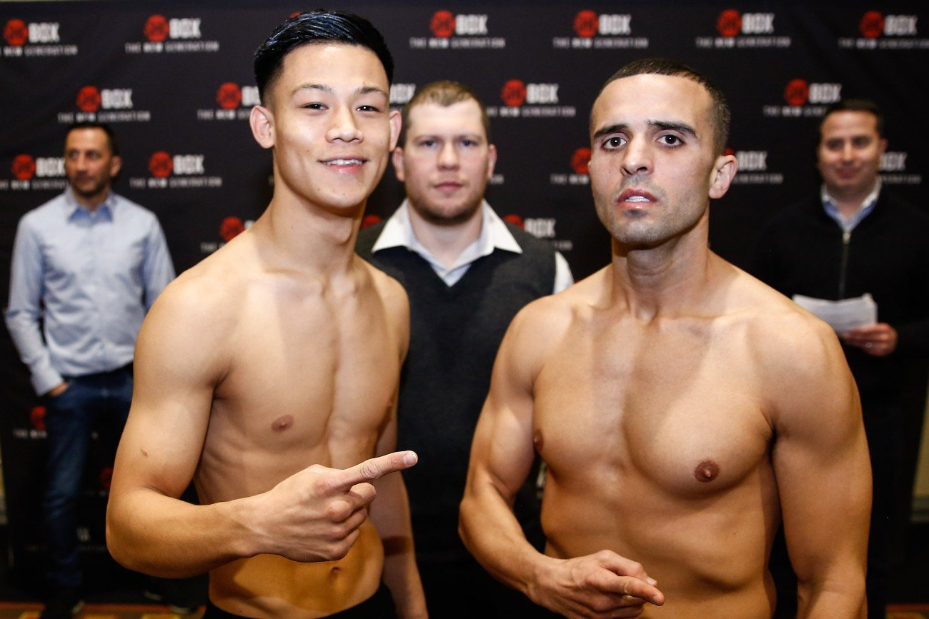 Camilo Prieto - March 12, 2020 – Talented undefeated super lightweight prospect Brandun Lee and his opponent in the ShoBox: The New Generation 10-round main event, Camilo Prieto, both made weight a day before their showdown tomorrow night, March 13, live on SHOWTIME (10 p.m. ET/PT) from the Grand Casino Hinckley in Hinckley, Minn.