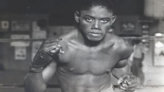 Kid Chocolate - It was July 26, 1929 when 19-year old Kid Chocolate (aka Cuban Bon Bon) made his Canadian boxing debut at the 3-year old Maple Leaf Stadium in Toronto.  He was already an elite pugilist whose masterful skills were displayed on a frequent basis to a beckoning world. He experienced no losses in the 37 pro bouts he had fought since turning pro in October 1927, and the Cuban-born Eligio Sardinias Montalvo also sported an unblemished record in his prior 22 amateur fights.