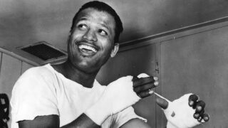 Sugar Ray Robinson - Referred to by many boxing historians as the finest boxer ever, pound-for-pound, Sugar Ray Robinson achieved oh, so much during his astonishing ring career. Fighting for twenty-five long years, from 1940 to 1965, the man born Walker Smith Jr. was basically untouchable at welterweight, while as he got older and the fights got tougher, Robinson engaged in some terrific battles, wars really, up at middleweight.