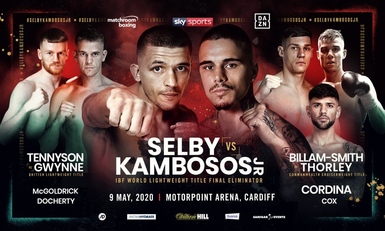 Lee Selby - Lee Selby will take on George Kambosos Jr in a Final Eliminator for the IBF Lightweight World Title on Saturday, May 9 at the Motorpoint Arena Cardiff, live on Sky Sports in the UK and DAZN.