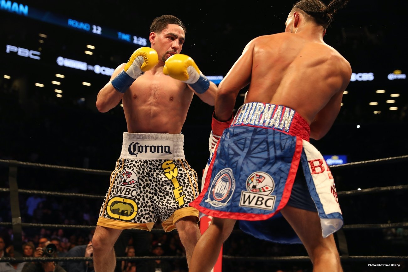 Danny Garcia, Errol Spence Jr. - IBF/WBC welterweight champion Errol 'The Truth' Spence Jr and two-division world champion Danny 'Swift' Garcia (36-2, 21 KOs) will be fighting on November 21.