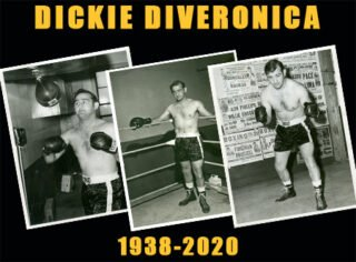 Dickie DiVeronica - The International Boxing Hall of Fame mourns the loss of Canastota's top ten ranked welterweight contender Dickie DiVeronica, who passed away today at age 82 following a brief illness.
