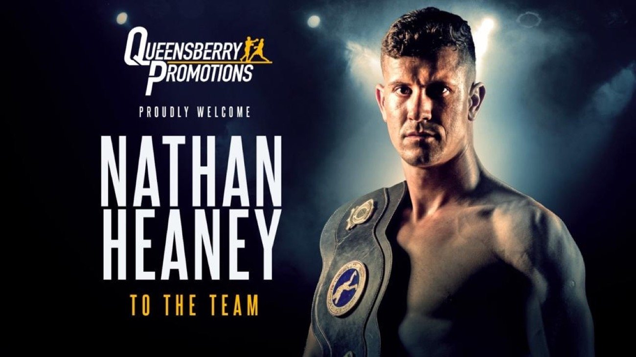 Nathan Heaney - HUGELY POPULAR STOKE middleweight Nathan Heaney has signed a promotional agreement with Frank Warren and Queensberry Promotions.