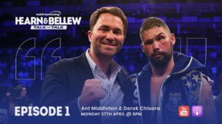 Tony Bellew - Eddie Hearn and Tony Bellew have teamed up once again – this time for a digital series, Talk The Talk.