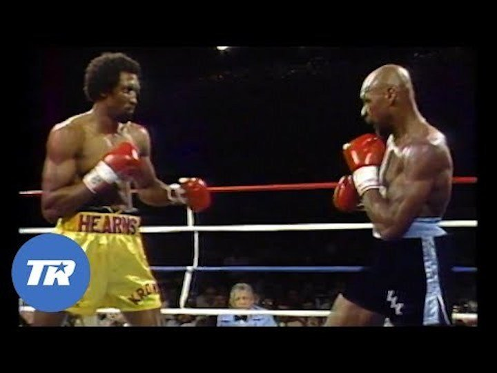 Marvin Hagler, Thomas Hearns - Three-and-a-half decades ago today – April 15, 1985 – an epic fight, a slugfest, a war, took place. The date of April 15, 1985 is a most familiar one with fight fans of a certain age; all those who are old enough to have been able to tune in and watch the brutal eight-minute battle take place and fully comprehend how special, how very special the action was.
