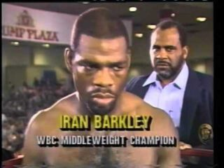 "Iran Barkley - One of the most consistently thrilling middleweight/super-middleweights of the 1980s and '90s, Iran Barkley had some amazing roller-coaster of a career. Born in the tough and mean streets of The Bronx 60 years ago today, Barkley would run in a street gang in his youth – the Black Spades also having Mitch ""Blood"" Green as a member – before boxing saved his life."
