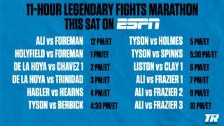 Joe Frazier - Muhammad Ali-Joe Frazier Trilogy Headlines Special Encore Boxing Presentation on ESPN