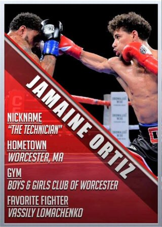 """Jamaine Ortiz - Even in his wildest dreams, undefeated World Boxing Council (WBC) Youth World lightweight champion Jamaine """"The Technician"""" Ortiz (13-0, 7 KOs) never could have ever imagined that his 24th birthday, later this month, would fall smack in the middle of a worldwide health pandemic."""