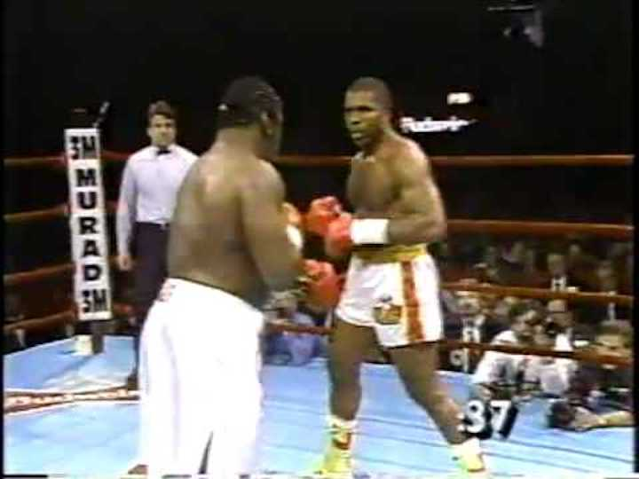 "Donovan Ruddock, Michael Dokes - For some, the scary and brutal KO Donovan ""Razor"" Ruddock scored over Michael Dokes some 30 years ago this week (April 4, 1990) ranks as THE most destructive they have ever seen. In recent times, only Ray Mercer's nasty annihilation of Tommy Morrison rivals it for most bloodcurdling heavyweight knockout."