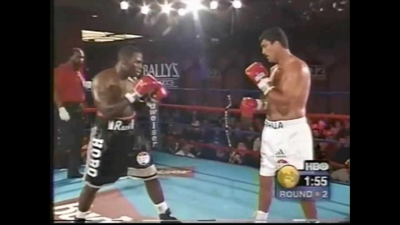 """Boxing History - It's been confirmed that former WBO Heavyweight Champion Corrie """"The Sniper"""" Sanders has died this morning after being shot in the stomach at the """"Thatch Haven Restaurant"""" just outside of Pretoria, South Africa."""