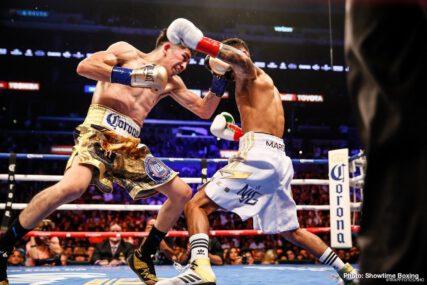 Errol Spence Jr., Floyd Mayweather, Jeff Lacy, Joe Calzaghe, Kostya Tszyu, Ricky Hatton - Boxing News