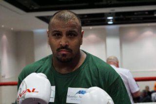 Kash Ali, Mike Tyson - Press Room