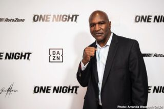 Evander Holyfield - There have been some great fights in the cruiserweight division over the 40 years since the weight class was born. For some, the James Toney-Vasilly Jirov fight ranks as the best ever at cruiser, for others, it's the incredible war between O'Neil Bell and Jean Marc Mormeck. Yet the fight that gets the most votes, the fight that is looked at by almost everyone as being the big daddy of the great ones at cruiserweight, is the simply breath-taking 15 round war between Evander Holyfield and Dwight Muhammad Qawi.