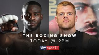 Joshua Buatsi - Matchroom Boxing Light-Heavyweight stars Joshua Buatsi and Callum Johnson will speak to each other for the very first time on 'The Boxing Show' - a new dynamic weekly show presented by Anna Woolhouse alongside Matthew Macklin on Sky Sports.