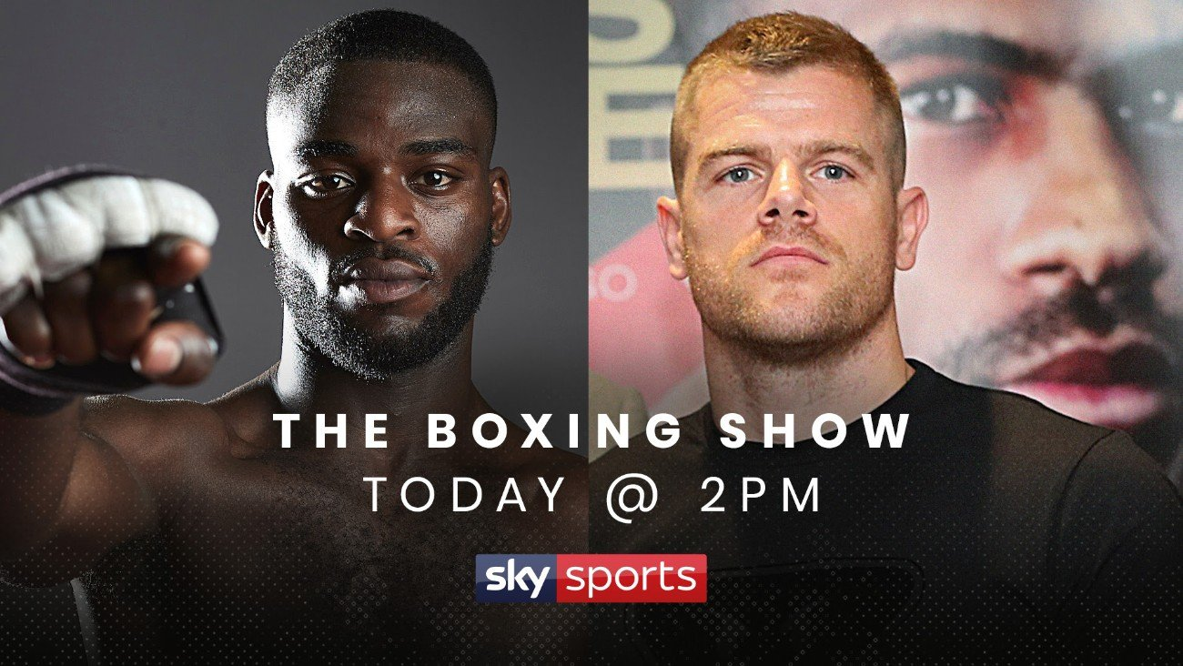 Callum Johnson, Joshua Buatsi - Matchroom Boxing Light-Heavyweight stars Joshua Buatsi and Callum Johnson will speak to each other for the very first time on 'The Boxing Show' - a new dynamic weekly show presented by Anna Woolhouse alongside Matthew Macklin on Sky Sports.