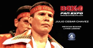 "Julio Cesar Chavez - After a quite incredible 113 pro bouts fought over 25 long years, Mexican legend Julio Cesar Chavez still wasn't done. Not quite. On this day back in 2005, a 43 year old Chavez was ready to say ""Adios"" to the L.A fight crowd, and maybe to boxing in general. Chavez fought Ivan Robinson at the Staples Centre (just $50 bucks for a cheap seat, $200 for a ringside perch) and a large crowd showed up to say thanks as well as goodbye."