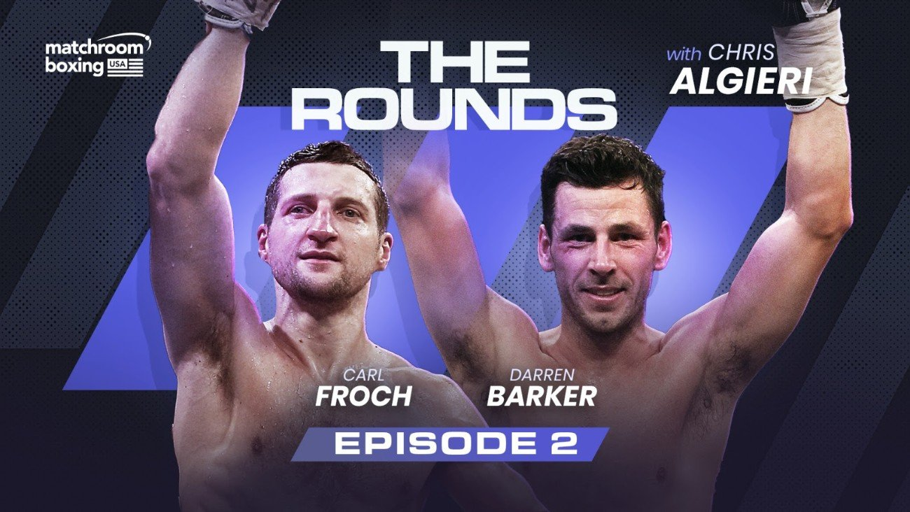 Carl Froch - FROCH AND BARKER TALK FIGHTING ON THE ROAD IN 'THE ROUNDS' - British stars talk Kessler, Abraham, Ward, Martinez and Geale and their sparring wars!