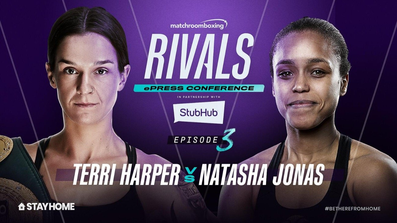 """Natasha Jonas, Terri Harper - Terri Harper says she will """"break down"""" Natasha Jonas when she defends her WBC and IBO Super-Featherweight World Titles against the Liverpudlian at Matchroom Fight Camp in Brentwood, Essex, on Friday August 7, live on Sky Sports in the UK and DAZN in the US."""