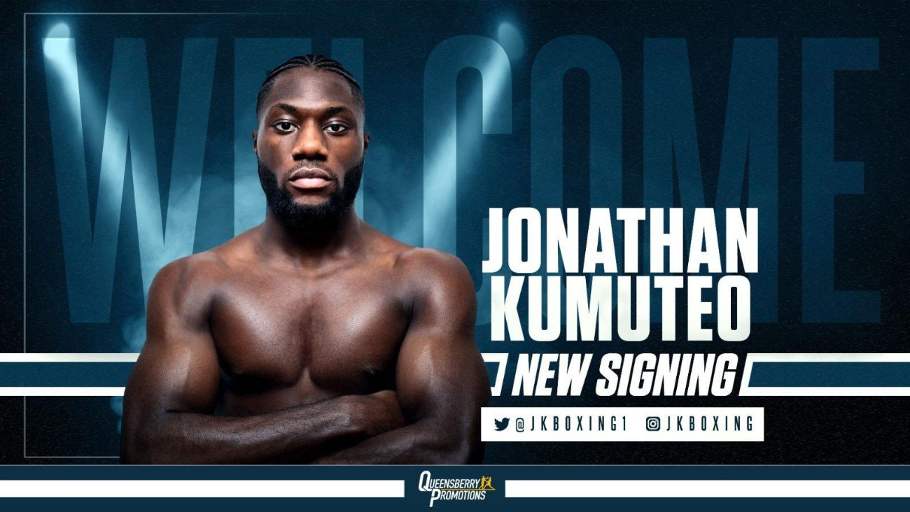 Jonathan Kumuteo - FORMER SUCCESSFUL AMATEUR Jonathan Kumuteo is prepared to turn professional under the promotional guidance of Frank Warren and Queensberry Promotions.
