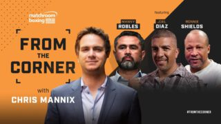 Ronnie Shields - Star trainers Manny Robles, Joel Diaz, and Ronnie Shields join Chris Mannix in the latest episode of Matchroom Boxing's YouTube show with trainers viewing the sport and the COVID-19 pandemic 'From The Corner.'