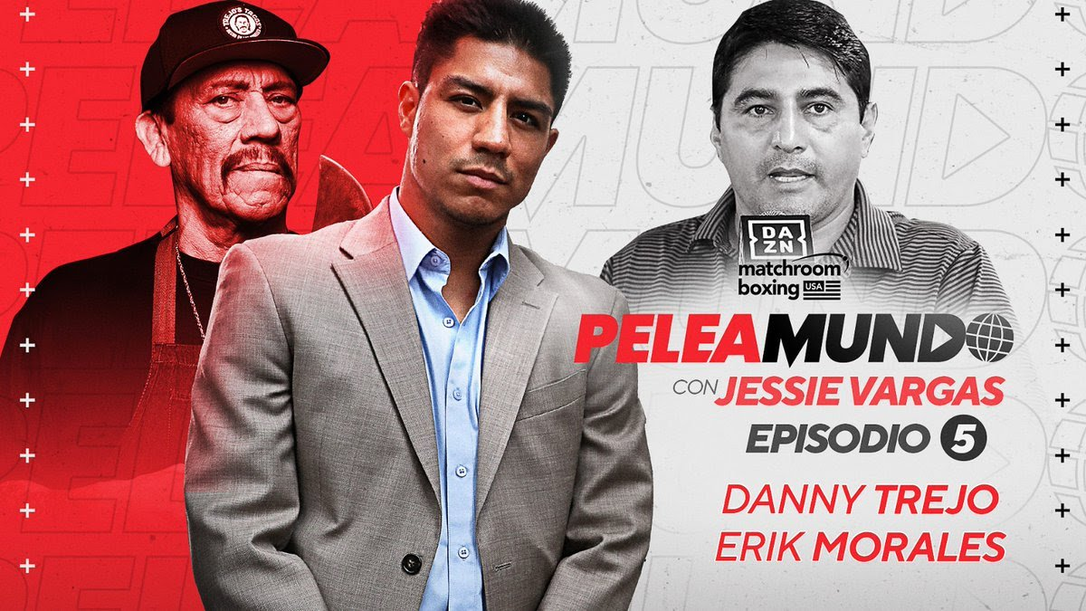 Danny Trejo - Danny Trejo says he has boxing to thank for starting his Hollywood career, as he joins the latest episode of Matchroom Boxing's YouTube show 'Peleamundo.'
