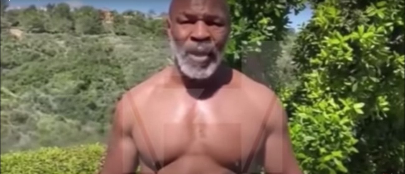 Mike Tyson - Former heavyweight world champion Mike Tyson posted a new video of himself showing off his chiseled physique at 53 and flexing for Chinese social media site Weibo. Although Tyson (50-6, 44 KOs) isn't yet in top condition, he still looking blinding fast and powerful as he throws a flurry of air punches.