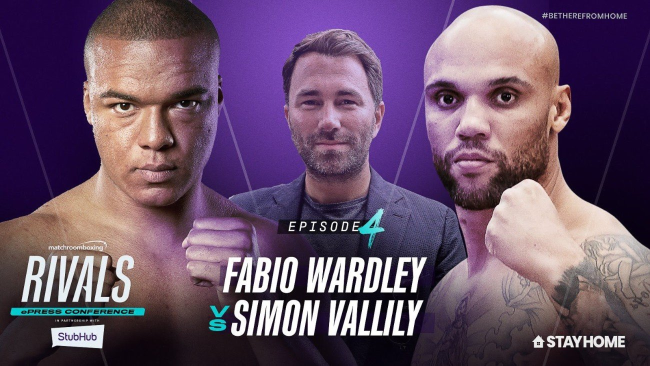 Fabio Wardley, Simon Vallily - British Boxing