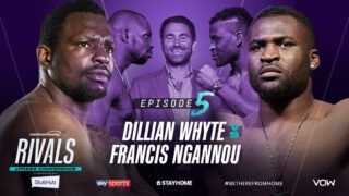 Francis Ngannou - Interim WBC Heavyweight World Champion Dillian Whyte and Heavyweight UFC star Francis Ngannou will come together for a special ePress conference at 7 pm (BST) tomorrow (Saturday, May 30) on Matchroom Boxing's YouTube channel.
