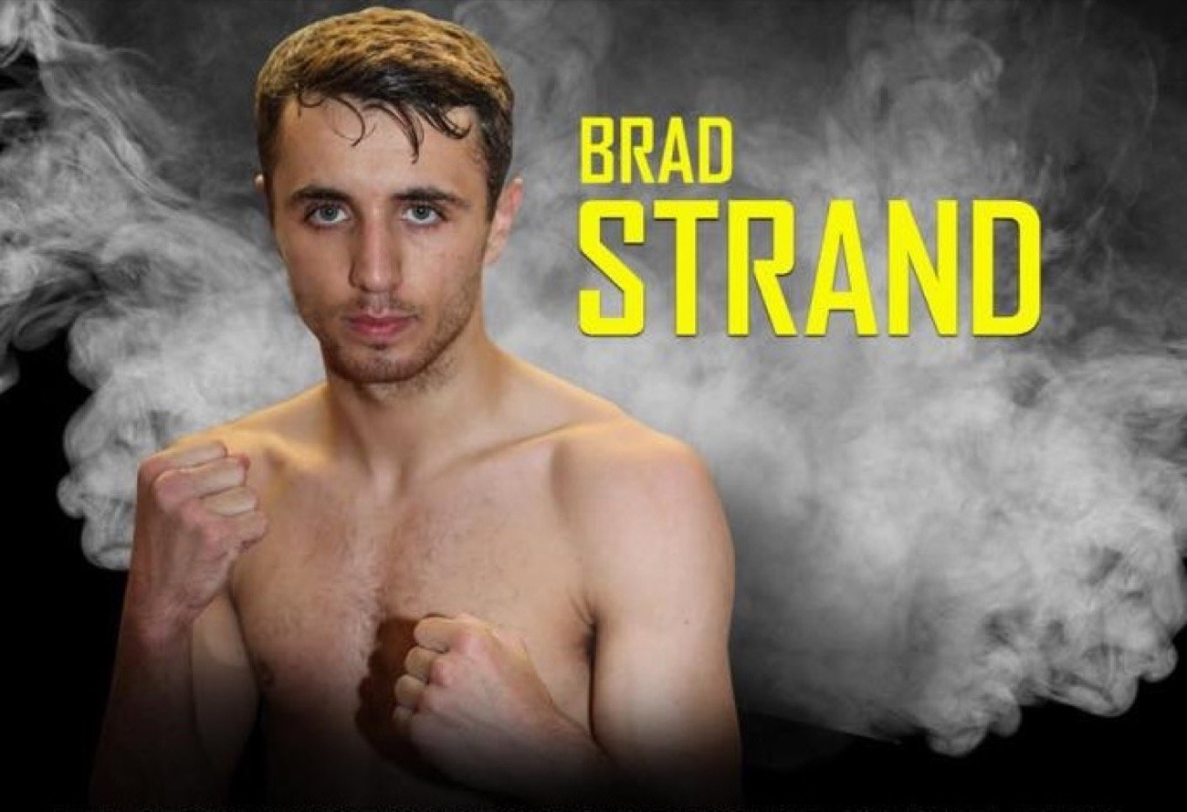 """Bradley Strand - Unbeaten 23-year-old super-bantamweight talent Bradley Strand (3-0), trained by Paul Stevenson at the thriving Everton Red Triangle Gym, is staying positive and setting himself new goals despite """"all the madness 2020 is throwing at us"""", he said in his own words."""