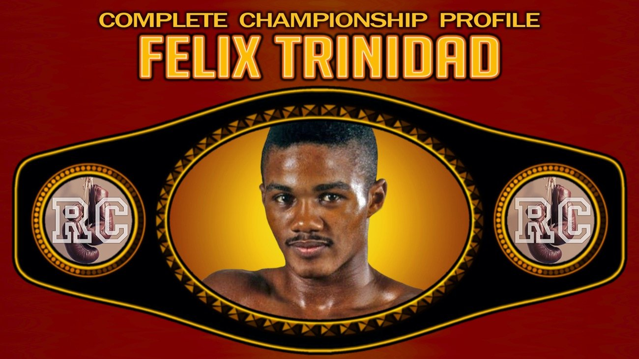 Felix Trinidad - Felix Trinidad is a former three division world champion who was inducted into the International Boxing Hall of Fame in 2014.