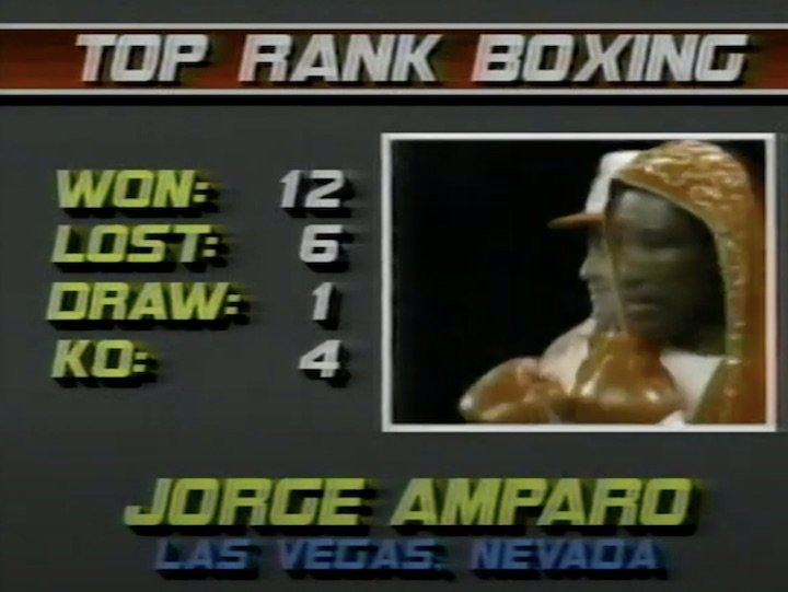 Jorge Amparo - The sport of boxing is littered with examples of either lost talent, wasted talent or never fully realized talent. The often used adage says boxing is a sport that is 90-percent mental. But perhaps making it to the top is in fact reliant on 90-percent luck. Some fighters are seemingly blessed with an abundance of the stuff, others never seem able to catch a break.