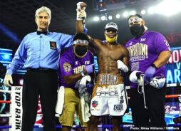 """Abraham Nova, Avery Sparrow - World-Ranked Abraham """"Super"""" Nova remained perfect by pounding out a 10-round unanimous decision over tough Avery Sparrow in a junior lightweight bout at the MGM Grand in Las Vegas."""