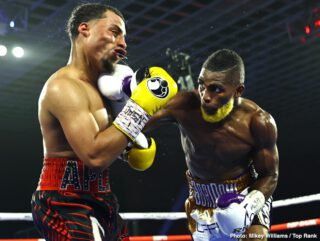 """Abraham Nova - World-Ranked Abraham """"Super"""" Nova remained perfect by pounding out a 10-round unanimous decision over tough Avery Sparrow in a junior lightweight bout at the MGM Grand in Las Vegas."""