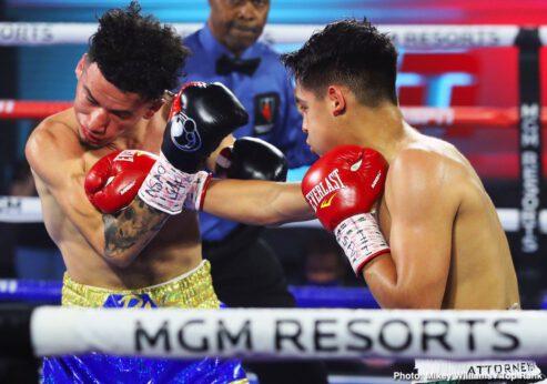 Adam Lopez, Jessie Magdaleno, Louie Coria, Yenifel Vicente - Boxing News