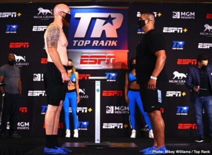 Andrew Moloney, Joshua Franco - Boxing News