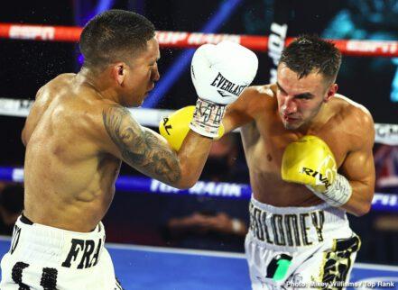 Andrew Moloney, Christopher Diaz, Joshua Franco, Miguel Contreras - Boxing News